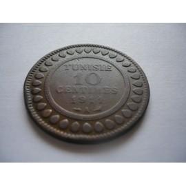 10 Centimes 1911a Tunisie