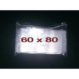 100 Sachet Zip 60 X 80