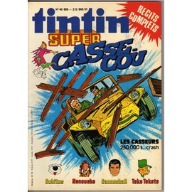 Super Tintin N� 06 : Special Casse Cou