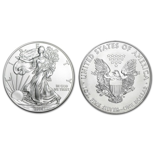 Usa <strong>american</strong> silver <strong>eagle</strong> 1 dollar 2014 1 oz argent