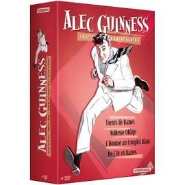 Alec Guinness 100ème Anniversaire Tueurs De Dames + Noblesse Oblige + Lhomme Au Complet Blanc + De Lor En Barres Pack