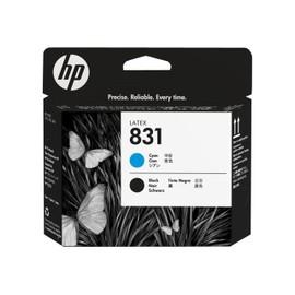 Hp 831 - Noir, Cyan - T�te D'impression - Pour Latex 310, 330, 360