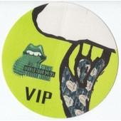 Pass Vip En Satin Rolling Stones World Tour 1994/1995