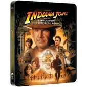Indiana Jones And The Kingdom Of The Crystal Skull (Steelbook Zavvi Avec Vf) de Steven Spielberg
