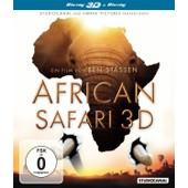 African Safari (Blu-Ray 3d) de Mara Douglas-Hamilton Kevin Richardson