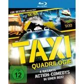 Taxi Quadrilogie (4 Discs) de Various