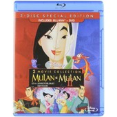 Mulan / Mulan Ii (3 Disc Special Edition) [Blu Ray / Dvd] de Tony Bancroft, Barry Cook