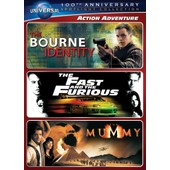 Action Adventure Spotlight Collection [The Bourne Identity, The Fast And The Furious, The Mummy] (Universal S 100th Anniversary) de Doug Liman, Rob Cohen, Stephen Sommers