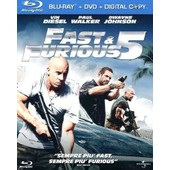 Fast And Furious 5 (Blu Ray+Dvd+Digital Copy) de Lin Justin
