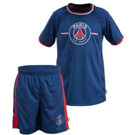 Maillot + Short Psg - Collection Officielle Paris Saint Germain - Taille Enfant Gar�on