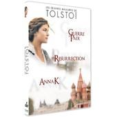 Les Oeuvres Majeures De Tolsto� : Guerre Et Paix + Anna Karenine + R�surrection - Pack de Robert Dornhelm