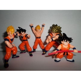Dragon Ball Pack 6 Figurines San Goku