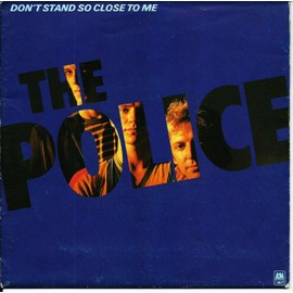 don't stand so close to me / friends (pochette poster)