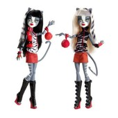 Monster High Miaoulodie Et V�ronronique Werecat (Meowlody And Purrsephone)