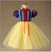 Halloween Costume/ D�guisement Enfant Princesse Blanche Neige Cosplay Emilie Mariage