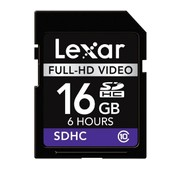 Lexar SDHC Full-HD 16GB Video Card