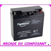 Accumulateur Accu Batterie Au Plomb 12v-18ah 180x76x167mm