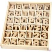 Chiffres Et Lettres En Bois Mdf 4 Cm, 288 Pi�ces - Creativ Company