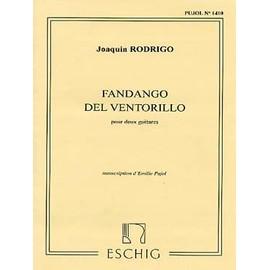 fandango del ventorrillo (pour deux guitares)