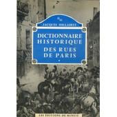 Dictionnaire Historique Des Rues De Paris de Hillaire