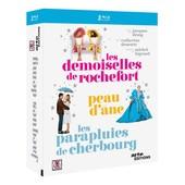 Jacques Demy - Les Demoiselles De Rochefort + Peau D'�ne + Les Parapluies De Cherbourg - Pack - Blu-Ray de Jacques Demy
