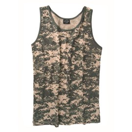 Debardeur Marcel Tee Shirt Sans Manche Camouflage At Digital Miltec 11001070 Airsoft Armee