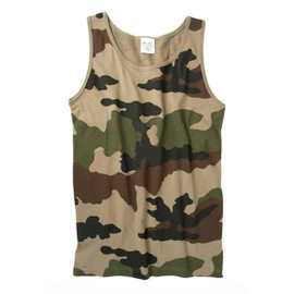 Debardeur Marcel Tee Shirt Sans Manche Camouflage Centre Europe Cce Miltec 11001024 Airsoft Armee