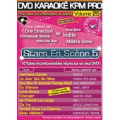 Dvd Karaok� Kpm Pro - Vol. 25 : Stars En Sc�ne 5