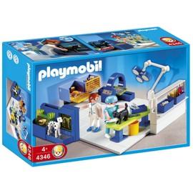 Playmobil 4346 - Equipe V�t�rinaires Et Salle D'op�ration