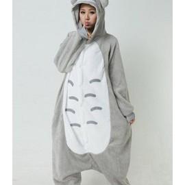 Kigurumi Envoie Immediat Adulte Pyjamas Unisexe Animal Animaux Combinaison Cosplay Animaux Chat Style Totoro