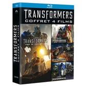 Transformers - Quadrilogie : Transformers + Transformers 2 - La Revanche + Transformers 3 - La Face Cach�e De La Lune + Transformers : L'�ge De L'extinction - Blu-Ray de Michael Bay