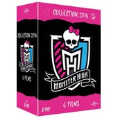 Monster High - Collection 2014 - 6 Films - Pack de Mike Fetterly