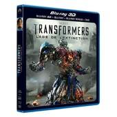 Transformers : L'�ge De L'extinction - Combo Blu-Ray 3d + Blu-Ray + Dvd de Michael Bay
