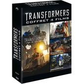 Transformers - Quadrilogie : Transformers + Transformers 2 - La Revanche + Transformers 3 - La Face Cach�e De La Lune + Transformers : L'�ge De L'extinction de Michael Bay