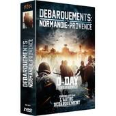 D�barquements : Normandie - Provence : D-Day, Leur Jour Le Plus Long + Provence Ao�t 1944, L'autre D�barquement - Pack de Richard Dale