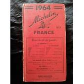 Guide Rouge Michelin France 1964 de Michelin