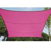 Voile D'ombrage Carr�e 5 M Rose