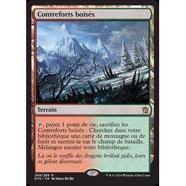 Contreforts Bois�s - Magic Mtg
