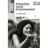 Pr�vention Sant� Environnement Cap - Corrig� de Sylvie Crosnier