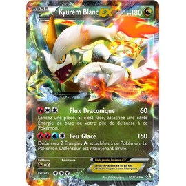 Carte Pokemon Fronti�res Franchies - Kyurem Blanc Ex 180 Pv