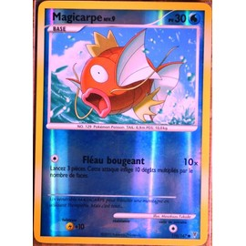 Carte Pok�mon 110/147 Magicarpe 30 Pv - Reverse S�rie Platine Vs Neuf Fr
