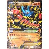 Carte Pok�mon 55/111 M�ga Lucario-Ex 220 Pv Ultra Rare Xy Poings Furieux Neuf Fr