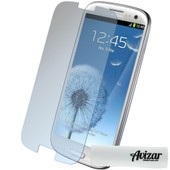 Film Prot�ge Ecran Verre Tremp� Samsung Galaxy S3 - Protection Transparent + Chiffonnette Avizar