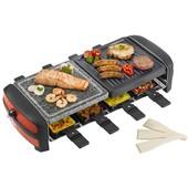 Bestron FUNCOOKING ARC800 - Raclette/grill/pierre � griller