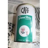 Ancienne Boite Caf� Grand Mere En Metal