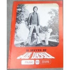 Joe Dassin - partition musique de 10 succès
