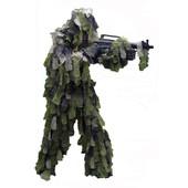 Ghillie Suit Ou Tenue Camouflage 3 Pieces Camo Oak Leaf 3d Feuille De Chene Avec Sac De Transport Miltec 11961520 Airsoft