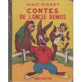 Contes De L'oncle Remus de walt disney