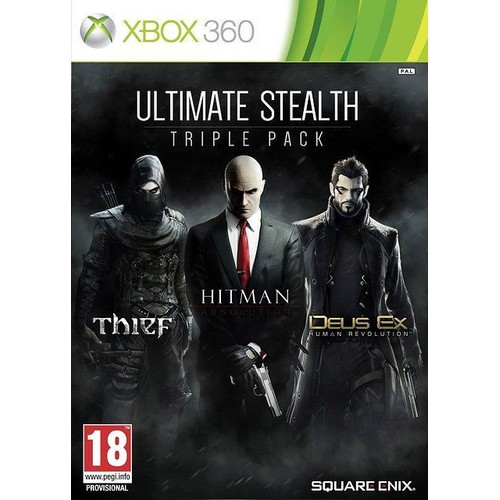 Ultimate Stealth Pack Square Enix Xbox 360