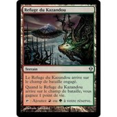 Magic The Gathering - Refuge Du Kazandou (Kazandu Refuge)